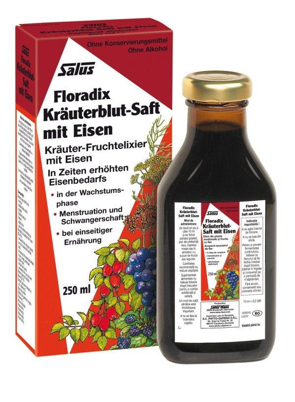 Floradix Kräuterblut (Pachet 4 produse)