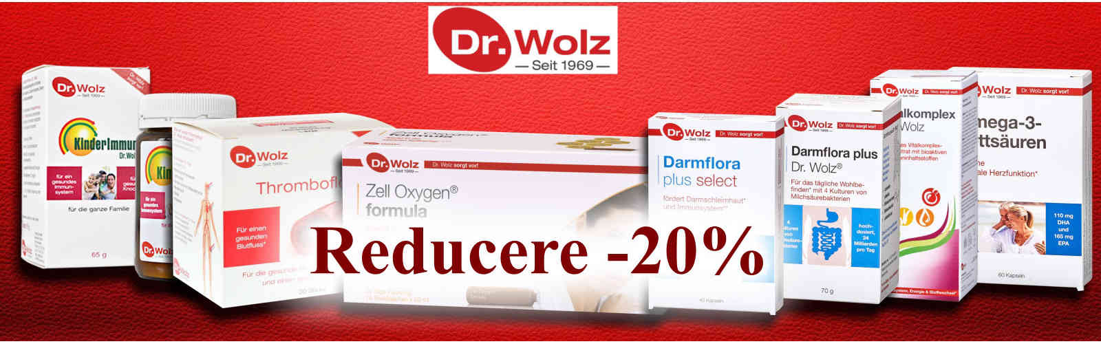 Dr. Wolz - Reducere 20%