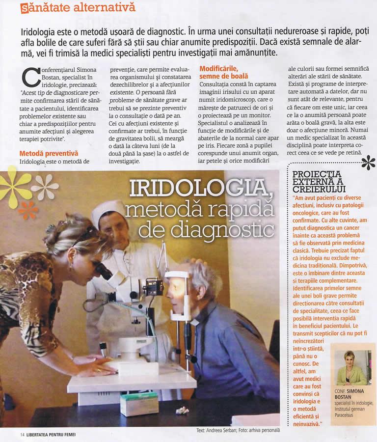 Articol în Revista Libertatea